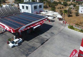Solarçatılı Petrol Ofisi İstasyonu