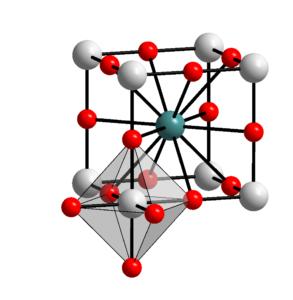 perovskit kristal yapısı