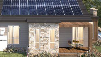 Solarbatarya'lı Ev